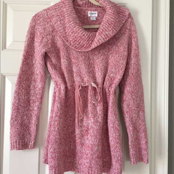 Pink Maternity Sweaters